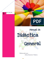 Manual de Didáctica General- Aime Zamario Valerio