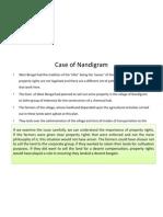 Case of Nandigram