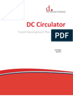 DC Circulator Transit Development Plan - Appendices - April 2011