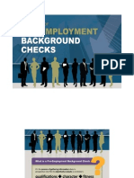 The Case for Pre Employment Background Checks