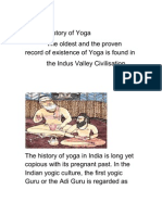 Evolution of Yoga