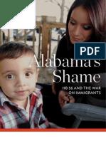 Alabamas Shame