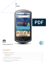 AT&T Impulse 4G Manual