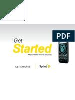 Sprint LG Marquee Manual