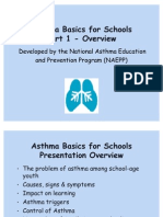 Asthma  basic  for  Schools   Part 1 ( NHBLI).