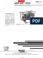 Power Arc 4000 Manual