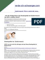 Homöopathie bei Kinderwunsch