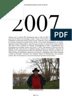 BIO MSC 2007