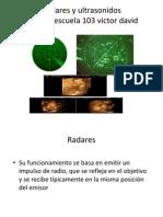 Radares y ultrasonidos