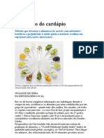 Alimentação Ponto Alto Do Cardápio - Nutrição - Alimentos - Medicina Preventiva