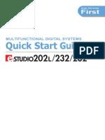 E-Studio 232 Quick Start Ver4