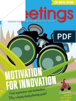 Motivation for Innovation - Plan Your Meetings 2011 Annual