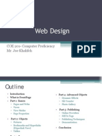 Lecture 7-Web Design-Joe Khalifeh