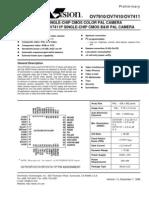 BU Cam Data Sheet