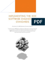 Implementing the IEEE Engineering Software Standards