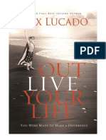 Outlive Your Life - You Were Made to Make A Difference - Sample