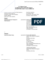Indemnity Insurance Company of America v. American Airlines Cargo Docket