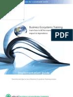 WBCSD BET Implementation Guide