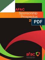 AFAC 2012 Sponsorship Prospectus