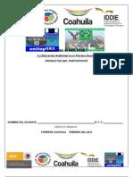 FORMATO PARA LOS PRODUCTOS La Educa Ambient en la Prác Doc SEPCoah CARRERA MAG XXI  2012 AJTV 6°B  ATP FJIR