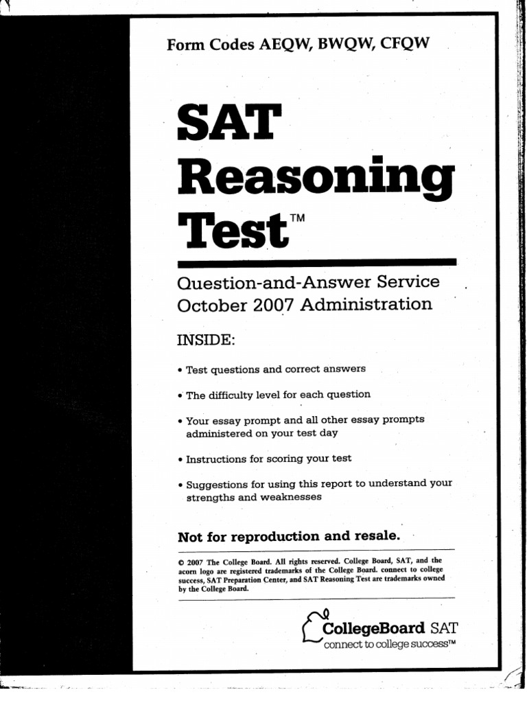 sat practice test essays Open document below is an essay on gmat practice test from anti essays, your source for research papers, essays, and term paper examples.