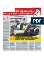 """""""Ante Colombia la base será el once que jugó con Paraguay"""" - Entrevista a Sergio Markarián"""