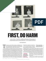 First, Do Harm