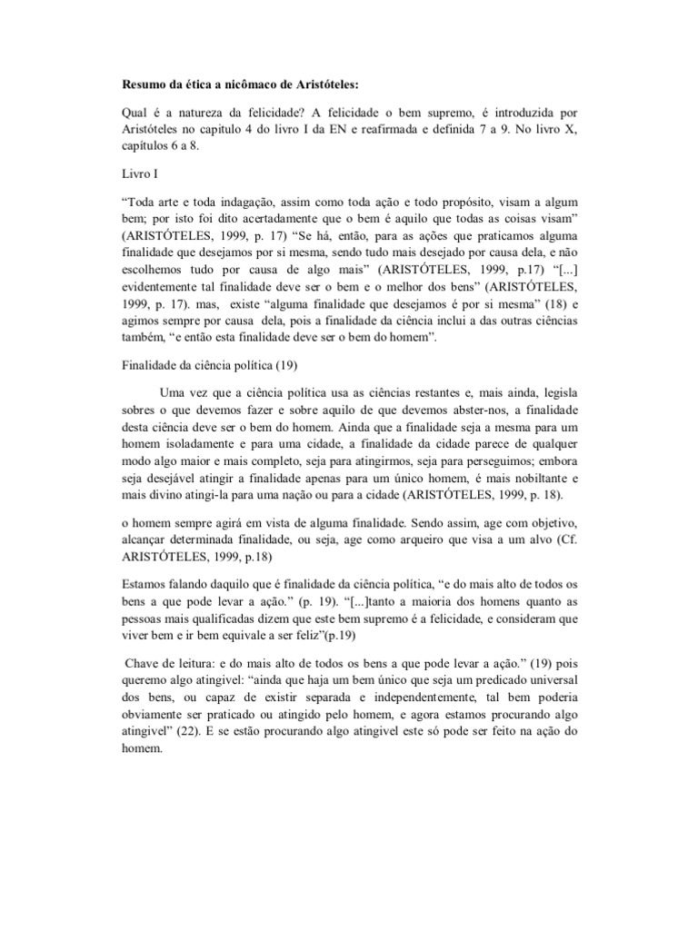 Baixar Livro tica a Nic maco Arist teles em PDF ePub mobi ou Ler Online