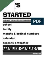 Let's Get Started Book 9 Sample Unit