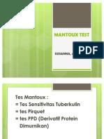 Mantoux Test