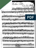 Bach Cpe Sonata Oboe & Continuo