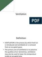 Ventilation Kholid