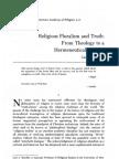 Carl Raschke - Religious Pluralism and Truth