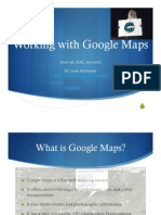 Brief Introduction to the Google Maps API