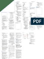 36166687 VCE Physics Unit 3 Exam 1 Cheat Sheet Final Copy