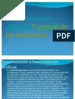 transmutacion y decaimiento