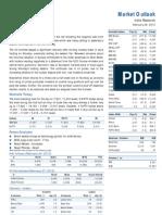Market Outlook 28th February 2012