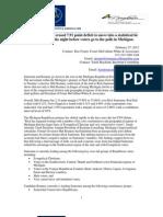 Foster McCollum White & Associates and Baydoun Consulting 2012 Michigan Republican Primary Voter Poll 2-27-12 Press Release
