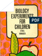 Biology Experiments for Children