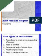 Audit Plan and Program