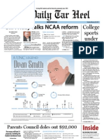 The Daily Tar Heel for February 28, 2012