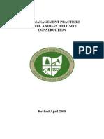 Best Management Practices Oilfield