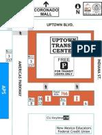 Uptown Transit Center Schematic