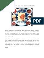 Mengenal Asal Usul (Keturunan) Para Habaib Di Nusantara
