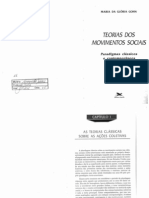 Gohn, Maria Da Gloria. Teorias Dos Movimentos Sociais_Cap.1