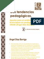 28 Dos tendencias pedagógicas Díaz Barriga 2009