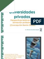 29 Universidades privadas 2009