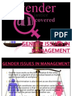 Gender Issues in Management - Copy