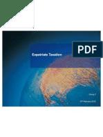 Expatriate Taxation 1