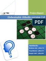 Unbeatable Othello (Ver 1.0)